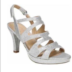Naturalizer glitter Sandals sz 7.5